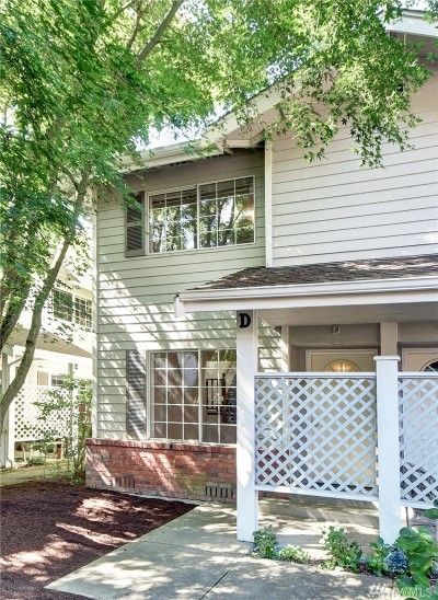Edmonds Condo/Townhouse For Sale: 19620 80th Ave W #D