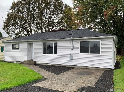 Chehalis Single Family Home For Sale: 1630 Wilson Ave