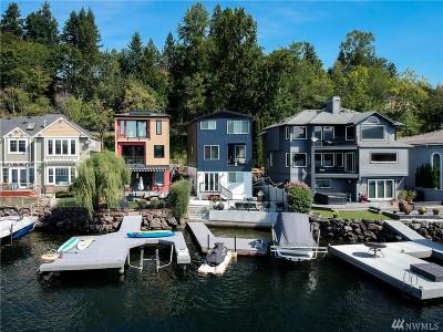 Sammamish Single Family Home For Sale: 4265 E Lake Sammamish Shore Lane SE