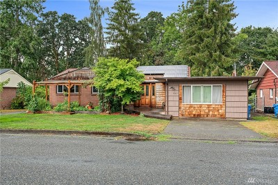 Chehalis Single Family Home For Sale: 1542 SW Snively