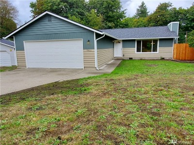 Tumwater Single Family Home For Sale: 7011 Monaco Dr SE