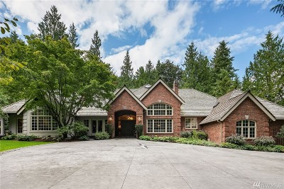 Redmond Single Family Home For Sale: 6301 204th Dr NE
