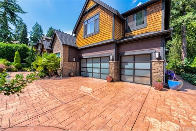 Bellevue Single Family Home For Sale: 10052 NE 31st Place
