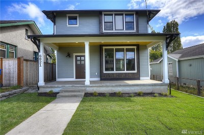 Tacoma Single Family Home For Sale: 6821 S Park Ave