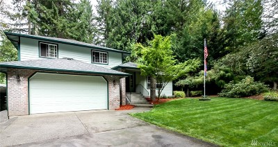 Gig Harbor Single Family Home For Sale: 9615 62nd St NW