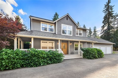 Woodinville Single Family Home For Sale: 24030 85th Ave SE