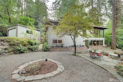 Lake Forest Park Single Family Home For Sale: 4083 NE 197th St