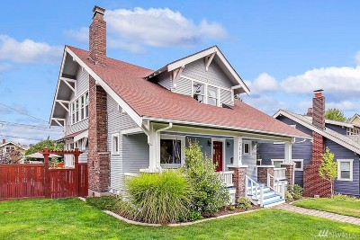 Pierce County Single Family Home For Sale: 3411 N 26th St