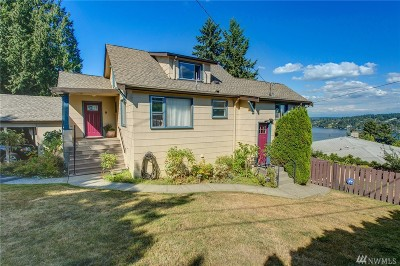 Lake Forest Park Single Family Home For Sale: 14502 37th Ave NE
