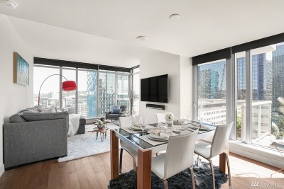 King County Condo/Townhouse For Sale: 588 Bell St S #1703S