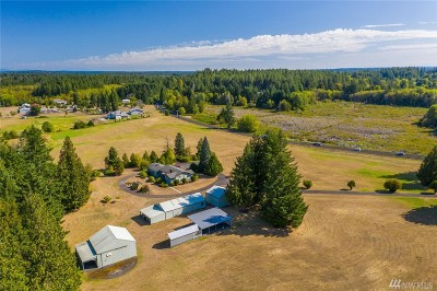 Single Family Home For Sale: 4641 Steamboat Island Rd NW