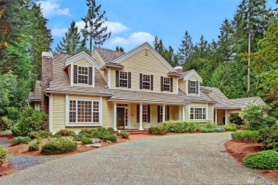 Woodinville Single Family Home For Sale: 14224 221st Ave NE