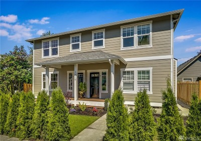 Everett Condo/Townhouse For Sale: 3814 Hoyt Ave #A