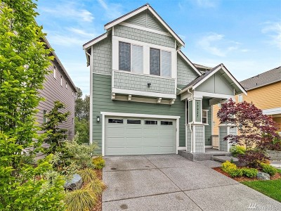 Lynnwood Condo/Townhouse For Sale: 12927 31st Ave W #17