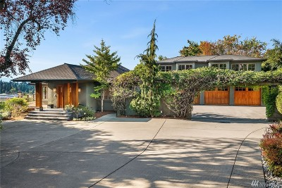 Clyde Hill Single Family Home For Sale: 8940 NE 14th St