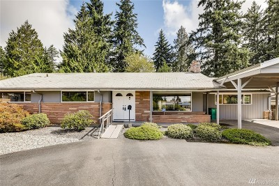 Shoreline Single Family Home For Sale: 19346 3rd Ave NW