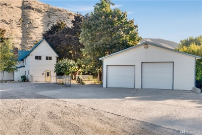 Chelan County, Douglas County Single Family Home For Sale: 4727 Entiat River Road