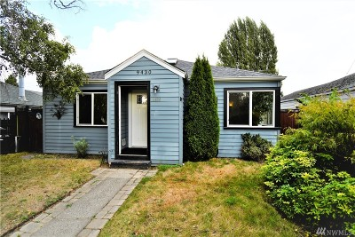 Seattle WA Single Family Home For Sale: $475,000