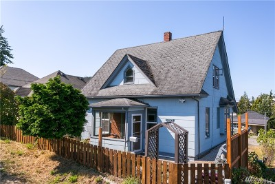 Single Family Home For Sale: 1237 Franklin St