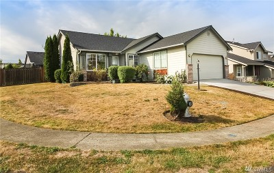Spanaway Single Family Home For Sale: 1624 196th St Ct E
