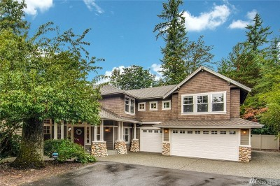 Woodinville Single Family Home For Sale: 21424 NE 159th St