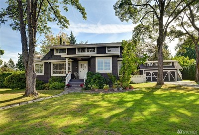 0, King County, Pierce County, Snohomish County Single Family Home For Sale: 4650 92nd Ave NE