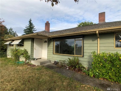 Seattle Single Family Home For Sale: 11240 28th Ave SW