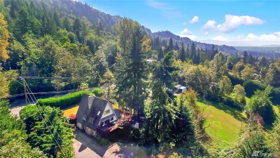 Issaquah Single Family Home For Sale: 16007 Tiger Mountain Rd SE