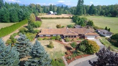 Granite Falls Single Family Home For Sale: 8701 163rd Ave NE