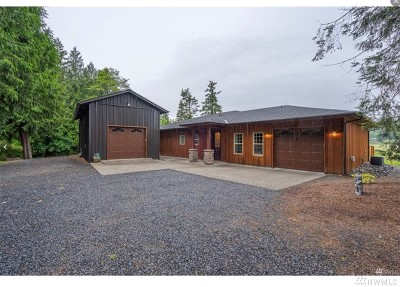 Chehalis Single Family Home For Sale: 3116 Jackson Hwy