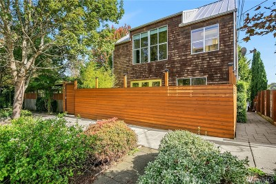King County Single Family Home For Sale: 114 26th Ave E #B