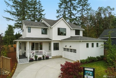 Bainbridge Island Single Family Home For Sale: 8672 NE Reserve Wy