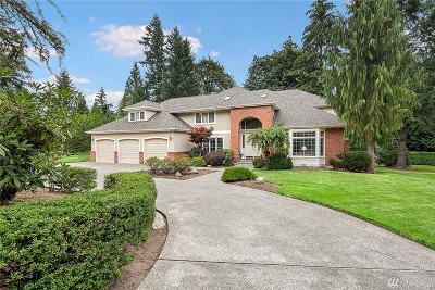 Woodinville Single Family Home For Sale: 21820 NE 137th St