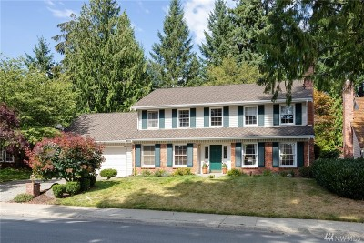 Sammamish Single Family Home For Sale: 22112 23rd St NE
