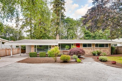 Bellevue Single Family Home For Sale: 4732 119th Ave SE