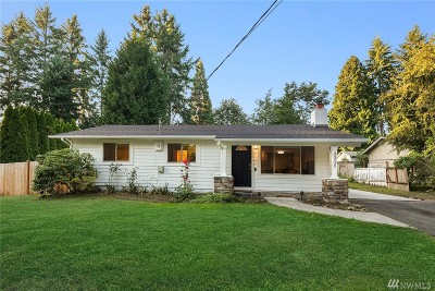 Kirkland Single Family Home For Sale: 8208 NE 123rd St