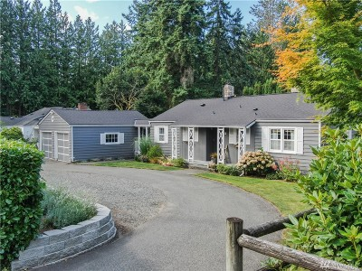 Shoreline Single Family Home For Sale: 19815 8th Ave NW