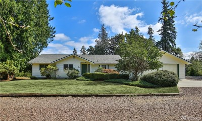 Monroe Single Family Home For Sale: 22809 165th Ave SE