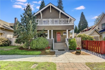 Tacoma Single Family Home For Sale: 3918 N 35th St