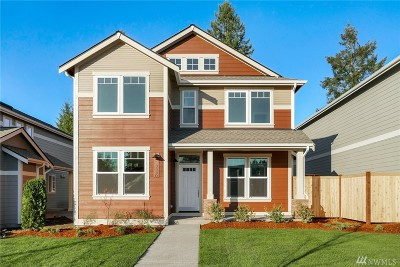 Tumwater Single Family Home For Sale: 3330 63rd Ave SW #Lot18