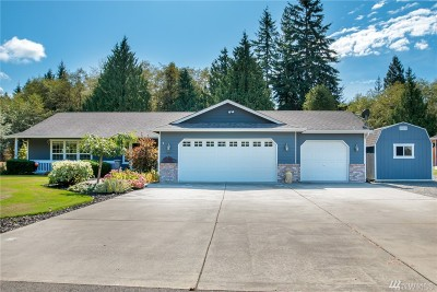 Stanwood Single Family Home For Sale: 20804 57th Ave NW