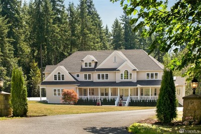 Redmond Single Family Home For Sale: 18207 NE 136th St