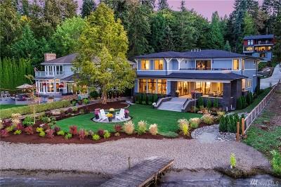 Redmond Single Family Home For Sale: 2662 W Lake Sammamish Pkwy NE