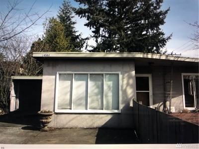 Shoreline Single Family Home For Sale: 14502 Phinney Ave N