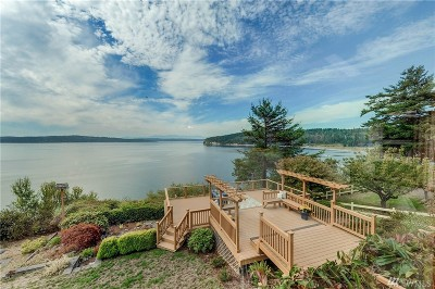 Camano Island Single Family Home Contingent: 2278 S Elger Park Rd