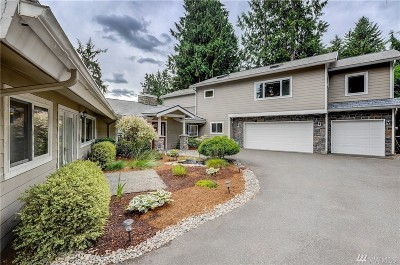 Mercer Island Single Family Home For Sale: 9509 SE 68th St