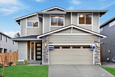 Renton Single Family Home For Sale: 18212 137th Place SE
