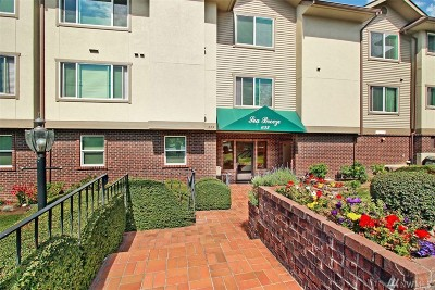 Edmonds Condo/Townhouse For Sale: 633 Main St #103