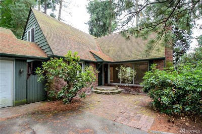 Shoreline Single Family Home For Sale: 343 NE 178th St
