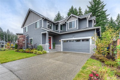 Bothell Single Family Home For Sale: 4308 181st St SE